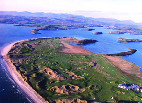 Donegal Golf Club - The massive links at Murvagh