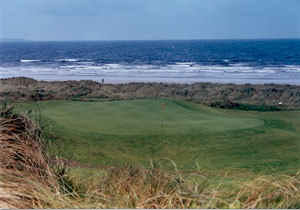 Enniscrone Golf Club - 2nd Green