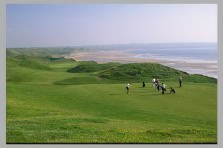 Ballybunion - the famed 11th approach
