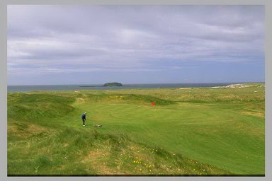 Ballyliffin Old - 'Bump and run' or just run and bump