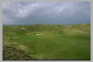Carne Golf Links, Ireland - the 10th Green